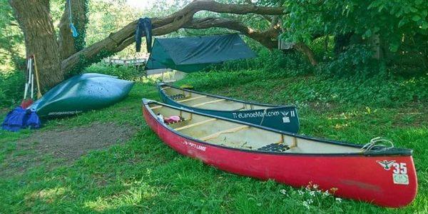 Canoe Camping -